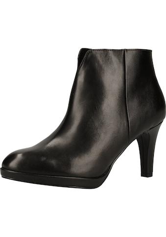 MARCO TOZZI High - Heel - Stiefelette »Leder/Synthetik« kaufen