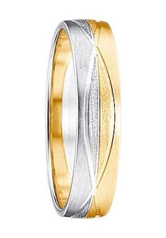Firetti Trauring mit Gravur »Seidenmatt, Diamantschnitte« kaufen