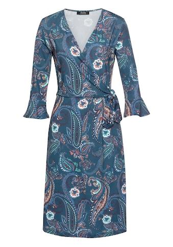 Aniston SELECTED Jerseykleid, mit Volants kaufen