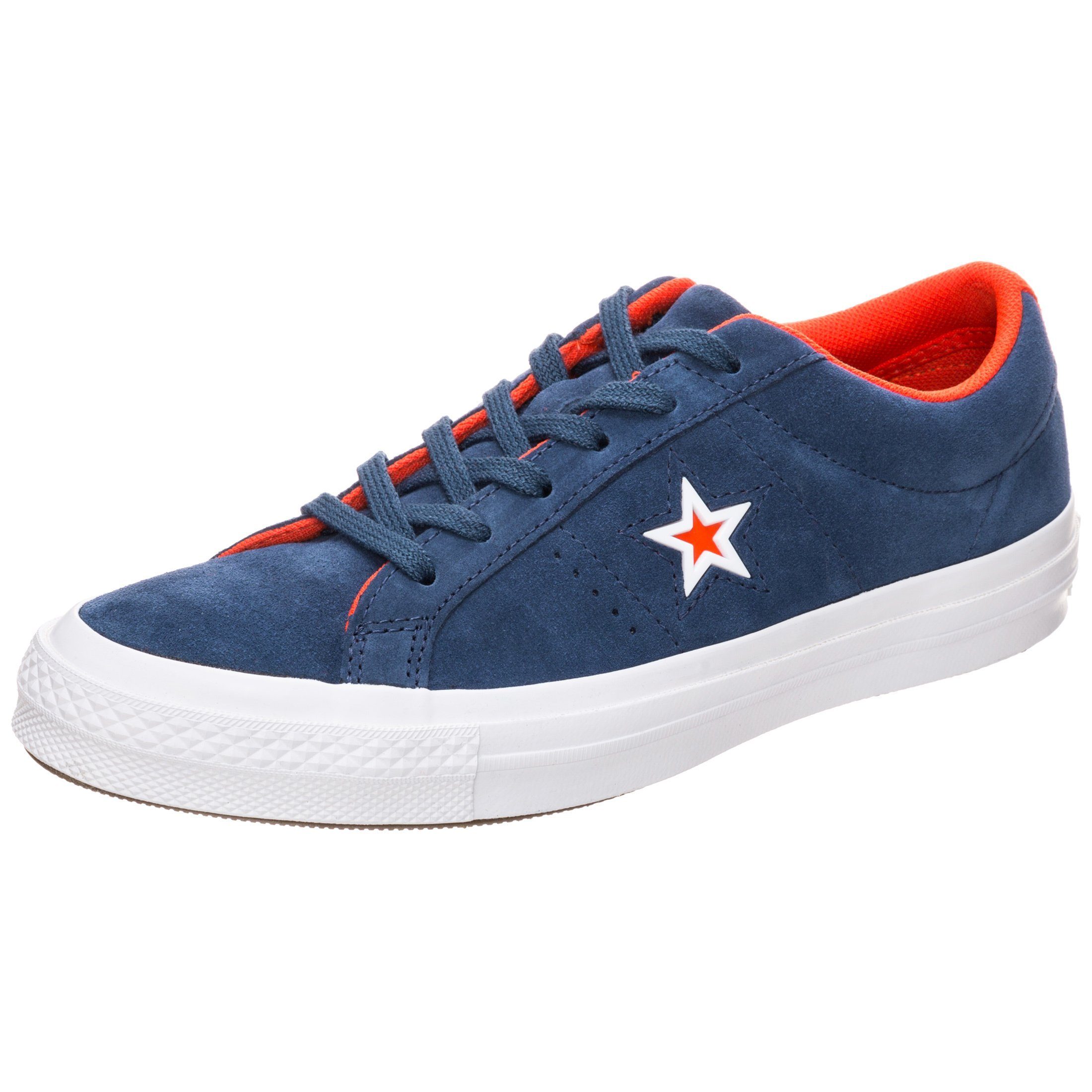 Converse Sneaker Cons One Star Suede Molded