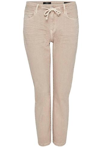 OPUS 5-Pocket-Jeans »Louis Colored«, mit dekorativem Bindedetail kaufen
