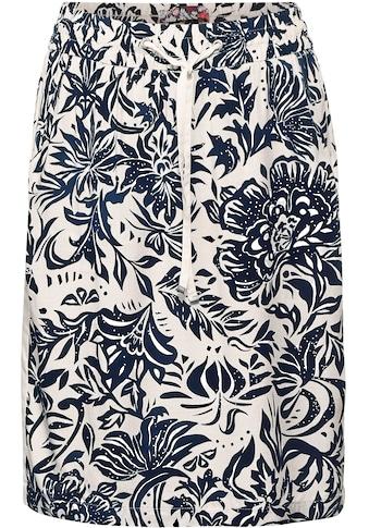 Cecil Sommerrock »Style Chelsea«, mit kontrastreichem Blumenmuster kaufen