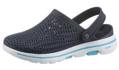 Skechers Clog »Go Walk 5«, mit verstellbarem Riegel kaufen