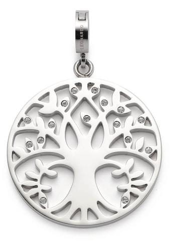 LEONARDO Charm-Einhänger »Lebensbaum, Amita Clip&Mix, 018759«, mit Kristallglassteinen kaufen