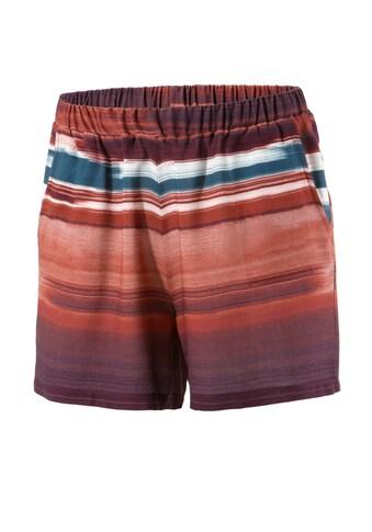 Aniston CASUAL Shorts, mit gestreiften Batikdruck im Farbverlauf kaufen