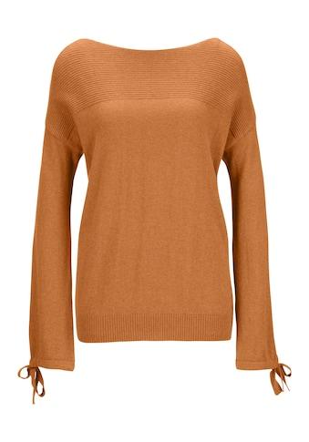 Pullover mit Bindeband kaufen