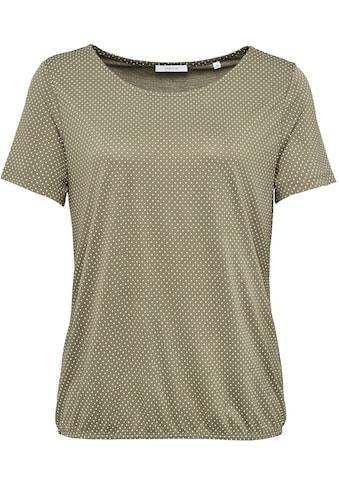 OPUS T-Shirt »Siekula«, mit feinem All-over-Print kaufen