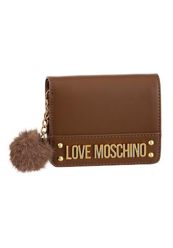 LOVE MOSCHINO Geldbörse, mit goldfarbenen Details kaufen