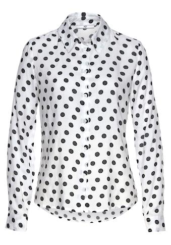 AJC Hemdbluse, mit Punkten im Alloverdesign kaufen