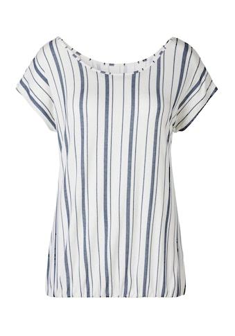 Beachtime T-Shirt, mit modischem Streifen kaufen