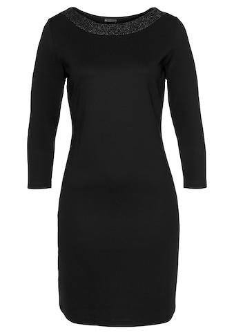 Laura Scott Jerseykleid, mit Glitzerblende am Ausschnitt kaufen