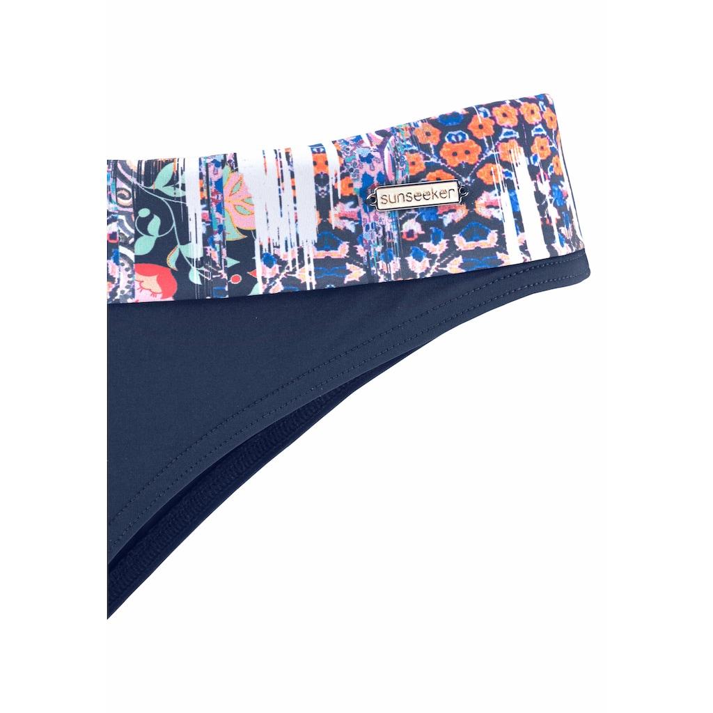 Sunseeker Bikini-Hose »Gipsy«, mit floralem Print
