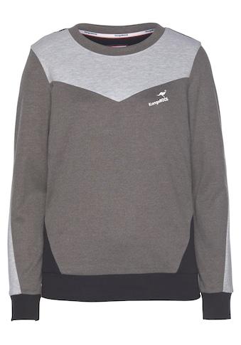 KangaROOS Sweater, in harmonischem Colorblocking-Design kaufen