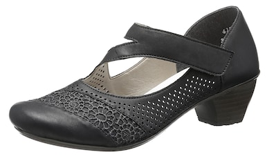 RIEKER Damen Ballerinas Schuhe Leder 41 taupe Neu!