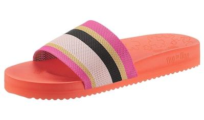Flip Flop Pantolette »Pool*knit multi«, mit sommerlichen Blockstreifenmuster kaufen
