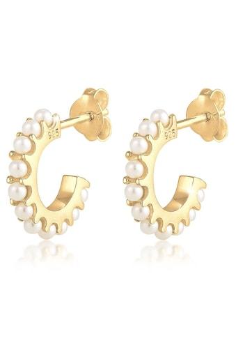 Elli Paar Ohrstecker »0308811419, 0304121019, 0308831419«, mit Kristallperlen kaufen