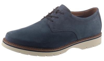 Clarks Schnürschuh »BAYHILL PLAIN«, mit heller Laufsohle kaufen