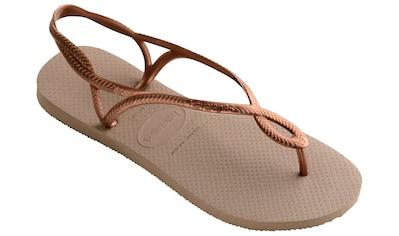 Havaianas Sandale »Luna«, mit zarten Riemchen in Flechtoptik kaufen