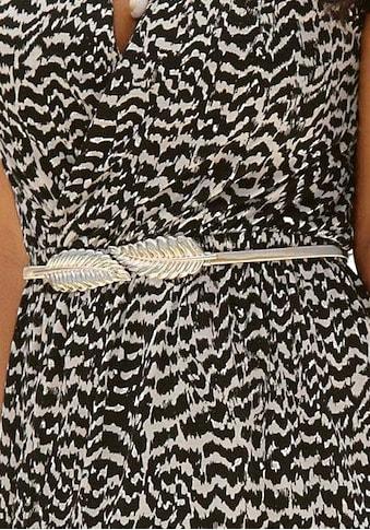 LASCANA Taillengürtel, mit moderner Federschließe und elastischem Band kaufen