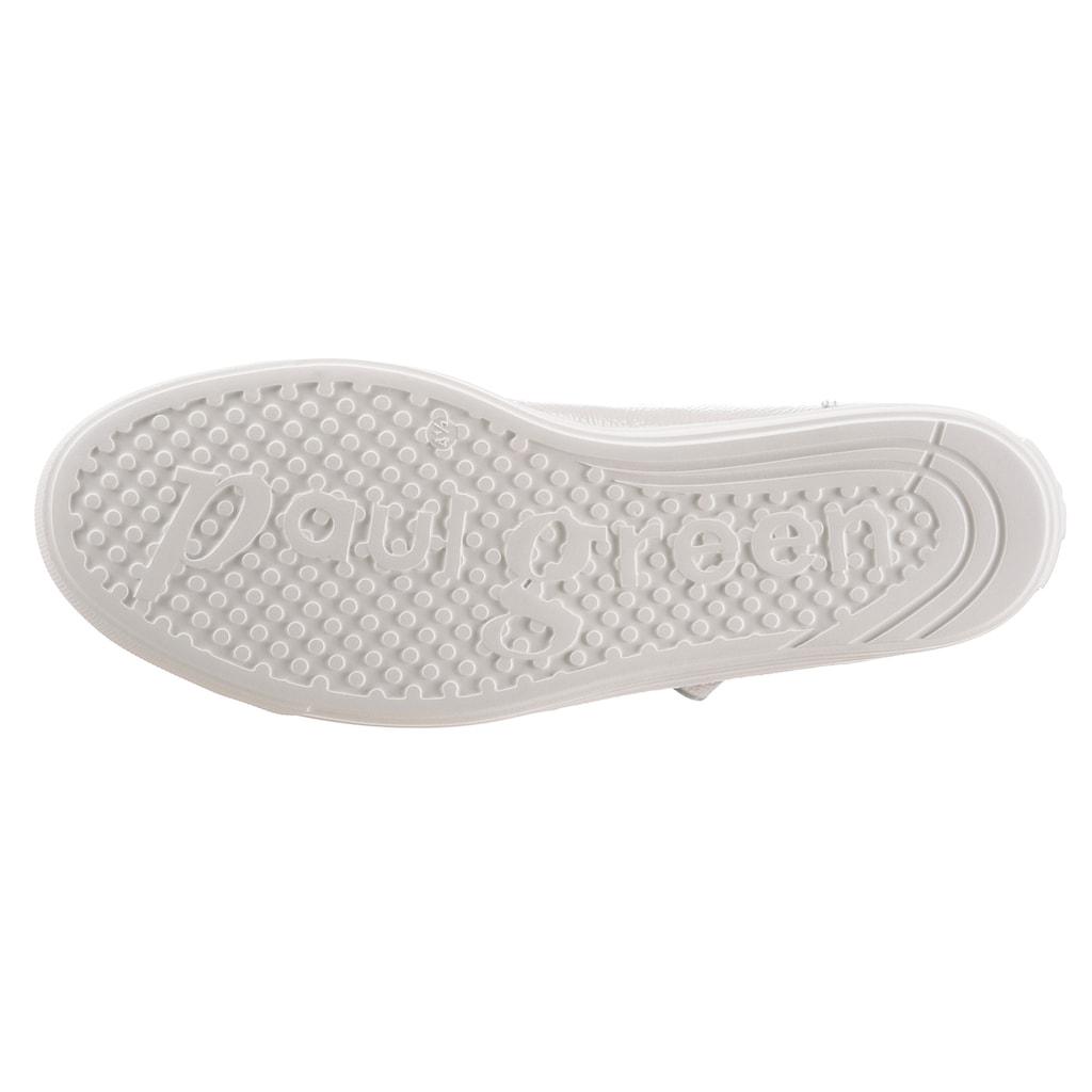 Paul Green Sneaker, mit gepolstertem Schaftrand