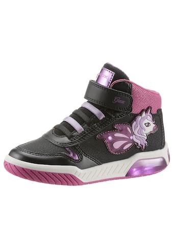 Geox Kids Sneaker »J Inek Girl Blinkschuh«, mit Klettverschluss kaufen