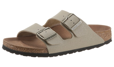Birkenstock Pantolette »Arizona earthy vegan«, in veganer Verarbeitung, Schuhweite:... kaufen