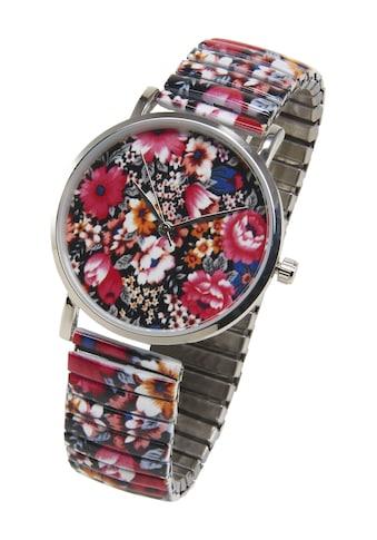Armbanduhr mit Blumen kaufen