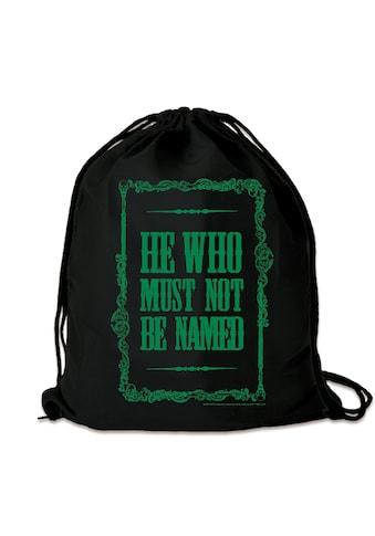 LOGOSHIRT Turnbeutel »Lord Voldemort«, mit knalligem Print kaufen