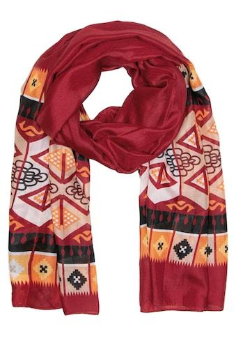 CASSANDRA Schal »Ethno«, mit symmetrischem Muster kaufen
