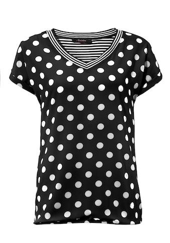 Aniston CASUAL T-Shirt, im Material- und Mustermix kaufen