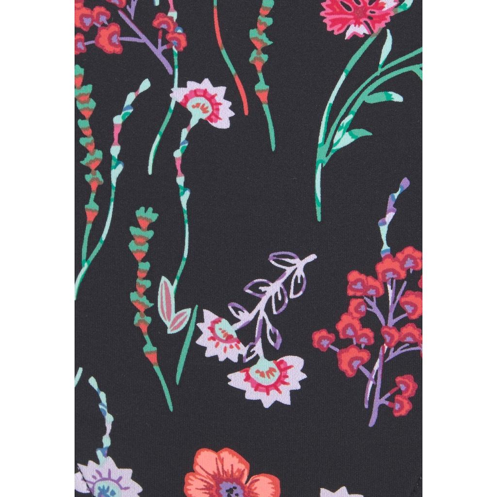 LASCANA Bikini-Hose »Bloom«, mit sommerlichem Design