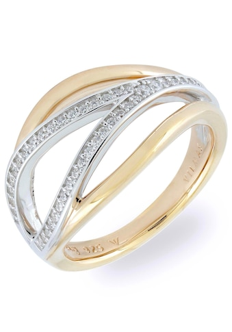 VILMAS Fingerring »Serenade, 4028146548633, 40, 57«, mit Zirkonia kaufen