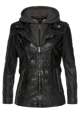 Gipsy Ledermantel »Adelyn«, 2-in-1-Lederjacke in etwas längerer Form, mit abnehmbarem... kaufen