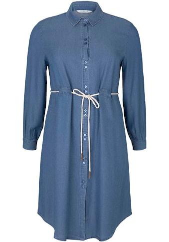 TOM TAILOR MY TRUE ME Jeanskleid, mit Bindegürtel in der Taille kaufen