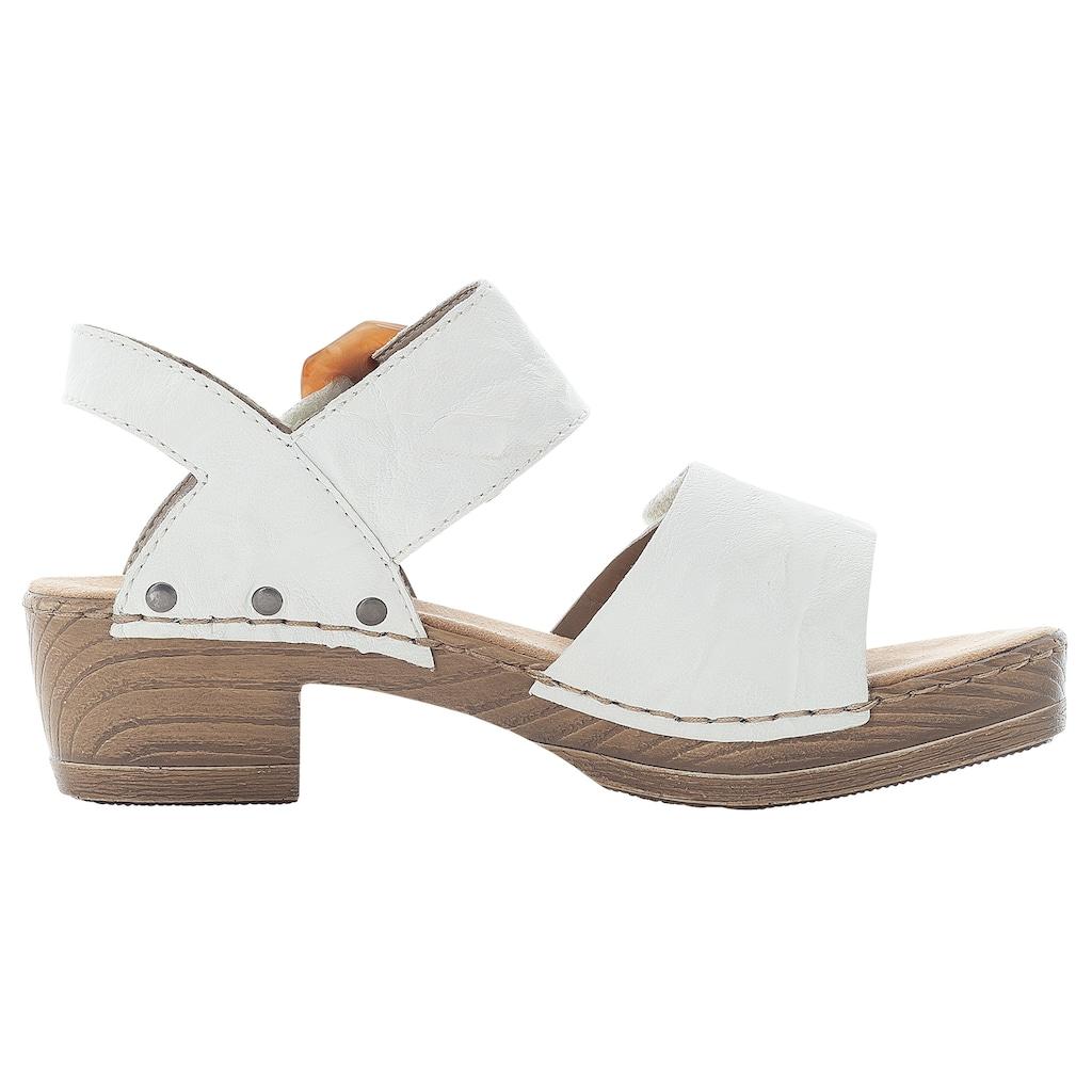 Rieker Sandalette, mit großer Zierschnalle