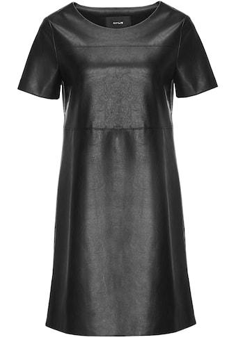 OPUS A-Linien-Kleid »Wasine«, aus weichem Leder-Imitat kaufen