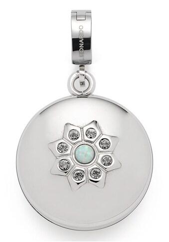 LEONARDO Charm-Einhänger »Azura Darlin's, 017975«, mit synth. Opal und Kristallsteinen kaufen