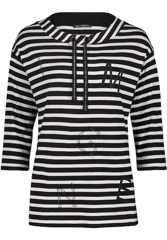 Betty Barclay Sweatshirt, mit Streifen und Glitzernieten kaufen