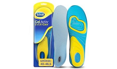 Scholl Gelsohlen »GelActiv Everyday Einlegesohlen«, für Männer, passend für... kaufen