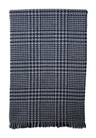 East Club London Wollschal, mit elegantem Karo-Muster kaufen