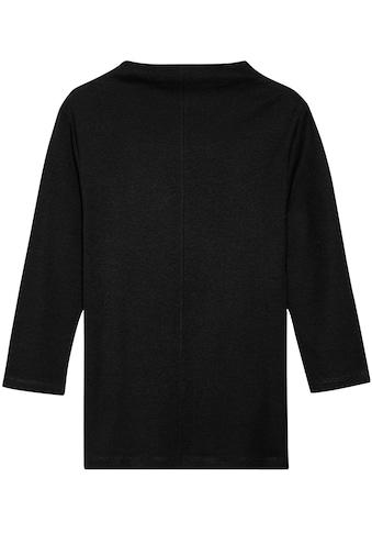 someday Langarmshirt »Keeli«, mit angeschnittenem Kragen kaufen
