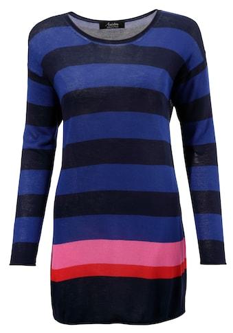 Aniston SELECTED Langarmshirt, mit Kontraststreifen kaufen