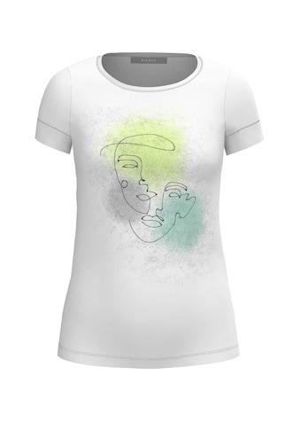 bianca Print-Shirt »DINIA«, mit coolem Frontprint und Metallic-Effekten kaufen