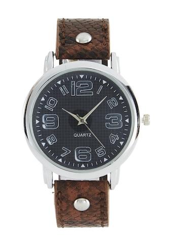 Armbanduhr mit Reptilienprägung kaufen