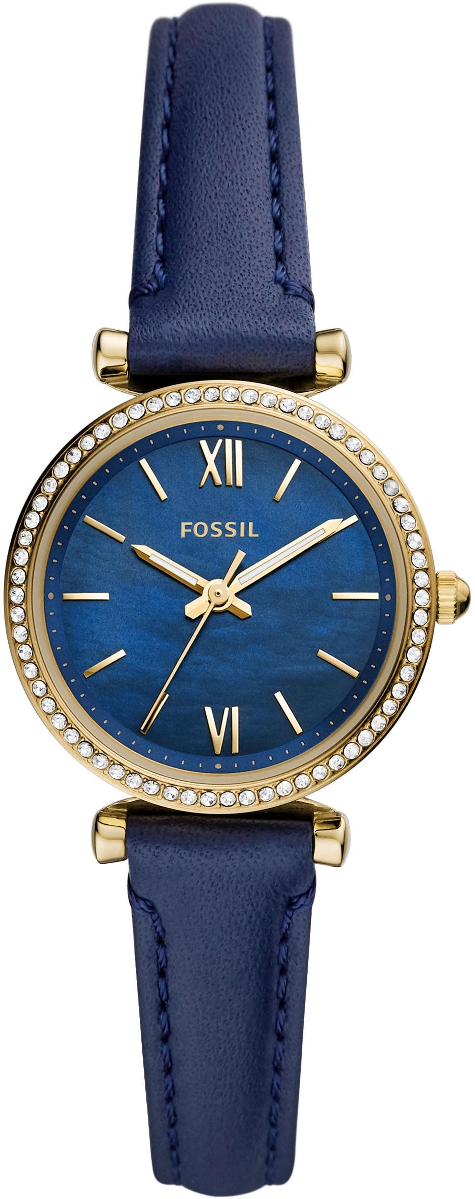 Fossil Quarzuhr CARLIE MINI, ES5017, (1 tlg.) günstig online kaufen