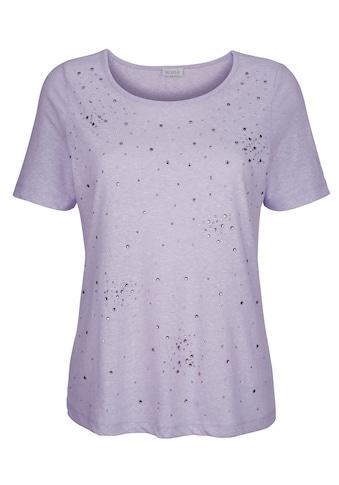 Mona T-Shirt, mit dekorativen Strasssteinen kaufen
