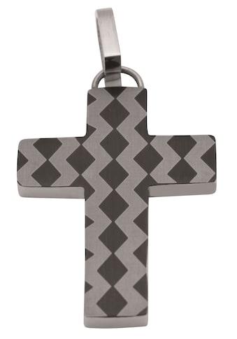 Firetti Kreuzanhänger »Religiöser Anhänger, teilweise IP - beschichtet, Glanz, matt, massiv« kaufen
