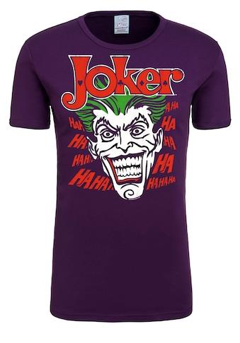 LOGOSHIRT T-Shirt »Joker - Batman«, mit lizenziertem Originaldesign kaufen