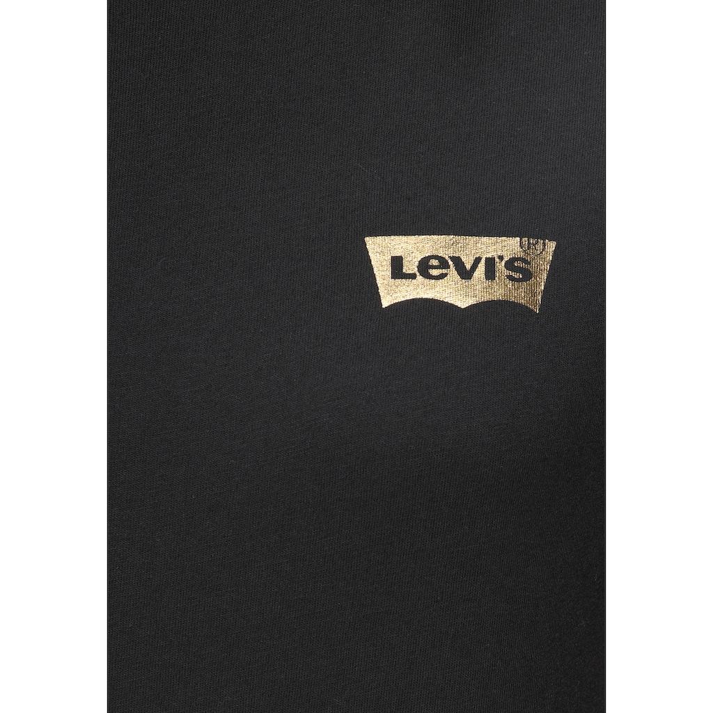 Levi's® Rundhalsshirt »The perfect Tee«, mit Print-Logo auf der Brust