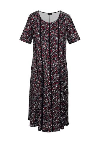 m. collection Kleid mit romantischem Blumen-Druckmuster rundum kaufen
